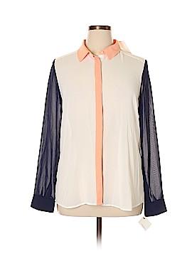 Halogen Long Sleeve Blouse Size XL