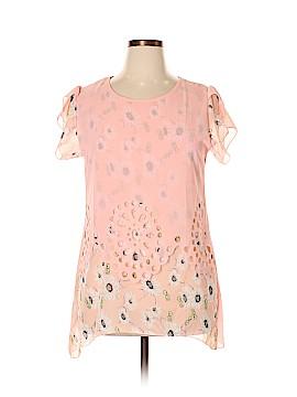 Classic Fashions Short Sleeve Blouse Size XL