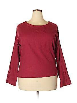 Fashion Classics Long Sleeve Blouse Size XXL