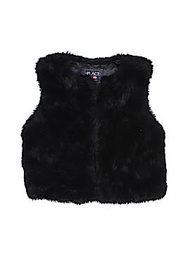 The Children's Place Faux Fur Vest Size 5 - 6