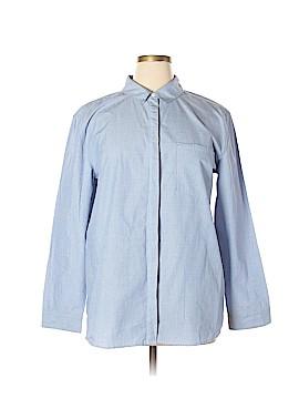 Treasure & Bond Long Sleeve Button-Down Shirt Size XL