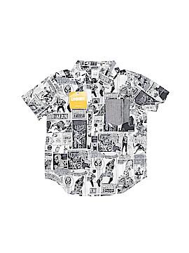 Marvel Short Sleeve Button-Down Shirt Size 2T