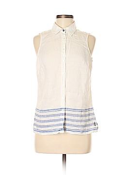 Tommy Hilfiger Sleeveless Button-Down Shirt Size 8