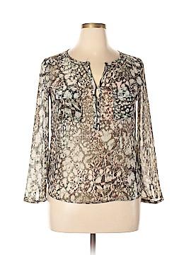 Trafaluc by Zara Long Sleeve Blouse Size L