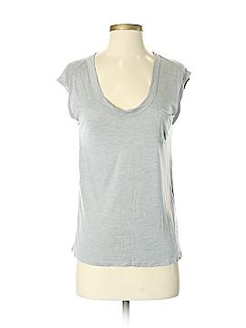 Intermix Short Sleeve Silk Top Size XS