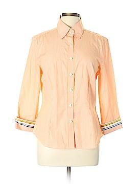 J. McLaughlin Long Sleeve Button-Down Shirt Size 10