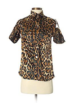 Dolce & Gabbana Short Sleeve Blouse Size S
