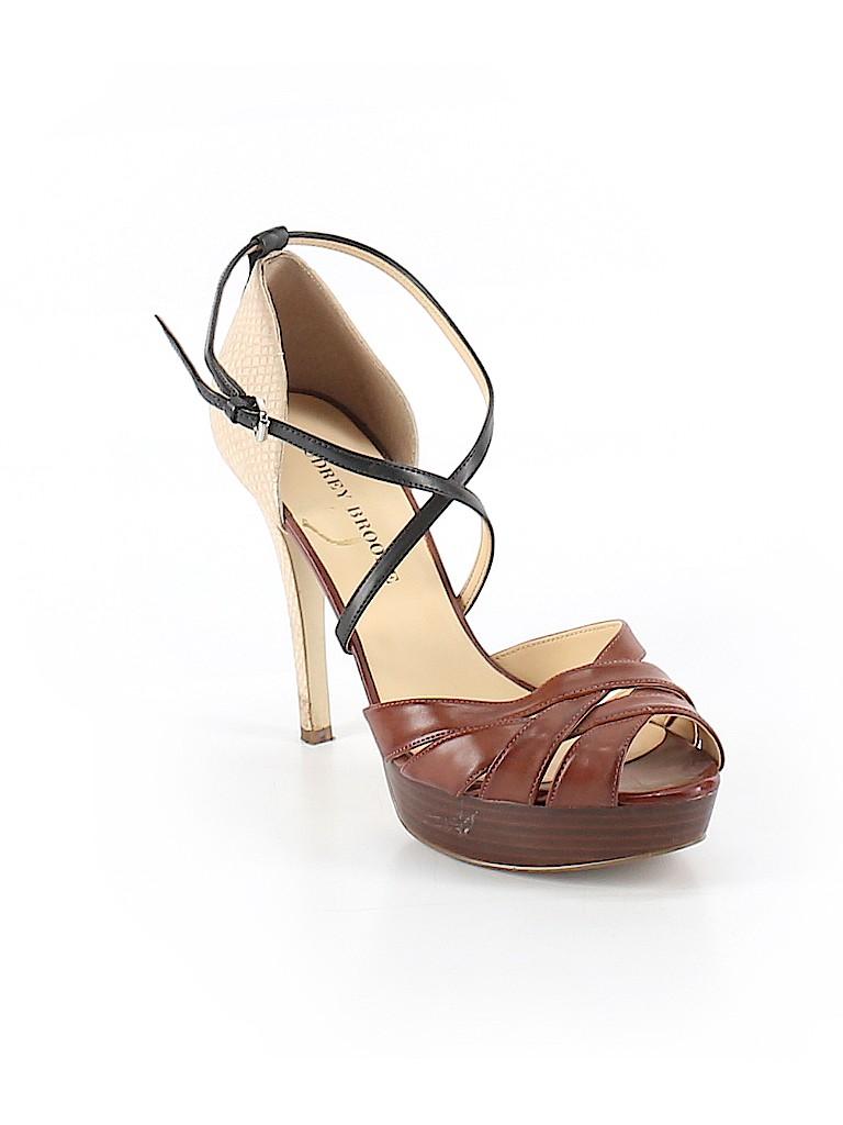 42e091d431b4 Audrey Brooke Animal Print Brown Heels Size 8 - 78% off | thredUP