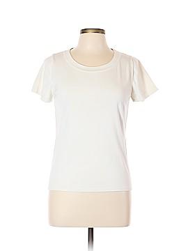 August Silk Short Sleeve T-Shirt Size L