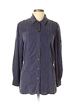 Carole Little Long Sleeve Button-Down Shirt Size 12
