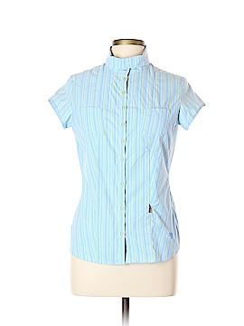 Mountain Hardwear Short Sleeve Button-Down Shirt Size 8
