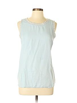 Lou & Grey Sleeveless Blouse Size L