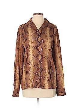 Carlisle Long Sleeve Silk Top Size 6