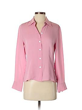 Caslon Long Sleeve Blouse Size S