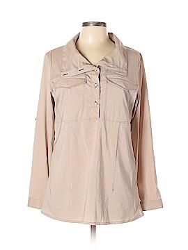 Mountain Hardwear Long Sleeve Button-Down Shirt Size M