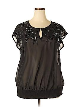 Seven7 Short Sleeve Blouse Size 18 - 20 Plus (Plus)