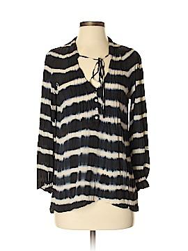 Patterson J. Kincaid Long Sleeve Silk Top Size XS