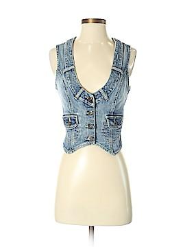 Guess Jeans Denim Vest Size S