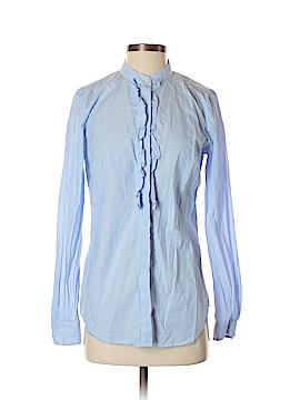 Ann Taylor Long Sleeve Button-Down Shirt Size S