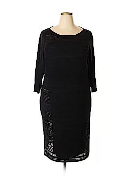 Chaps Casual Dress Size 3X (Plus)