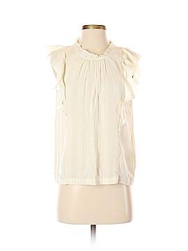 Lucky Brand Short Sleeve Blouse Size XS