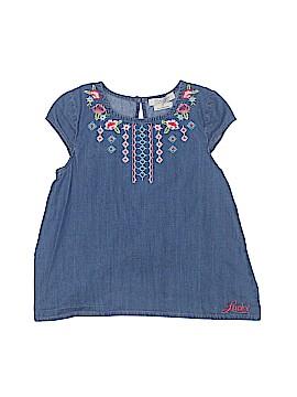 Lucky Brand Short Sleeve Blouse Size 5