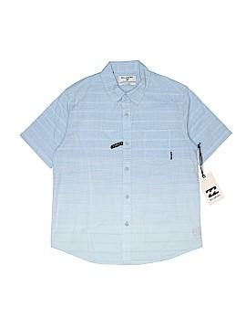 Billabong Short Sleeve Button-Down Shirt Size S (Youth)