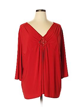 Fashion Bug 3/4 Sleeve Top Size 30 - 32 (Plus)