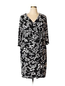 Chaps Casual Dress Size 18 (Plus)