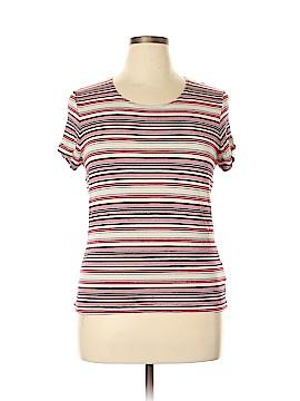 Jaclyn Smith Short Sleeve T-Shirt Size L