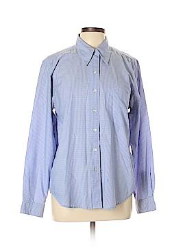 Geoffrey Beene Sport Long Sleeve Button-Down Shirt Size 12