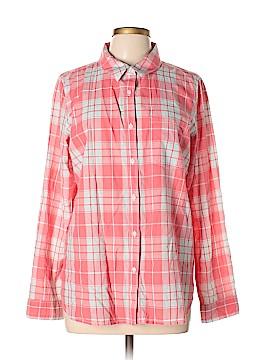Treasure & Bond Long Sleeve Button-Down Shirt Size L