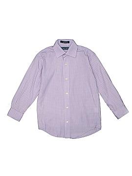 Joseph Abboud Long Sleeve Button-Down Shirt Size 8