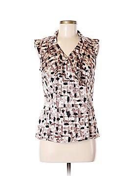 Ann Taylor Short Sleeve Blouse Size 6