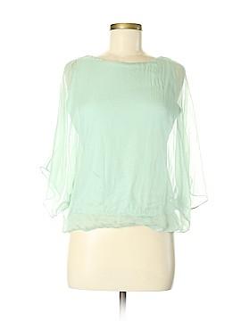 Monsoon 3/4 Sleeve Silk Top Size 8