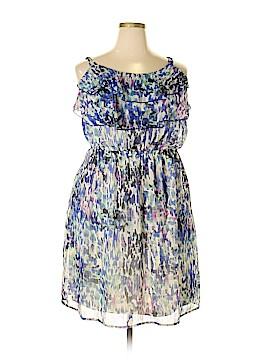 Faded Glory Casual Dress Size 2X (Plus)
