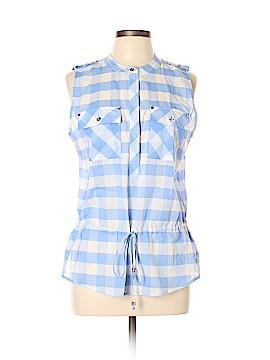 MICHAEL Michael Kors Sleeveless Button-Down Shirt Size 10