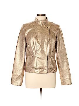 Anne Klein Faux Leather Jacket Size L
