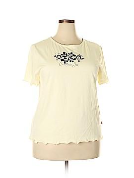 Caribbean Joe Short Sleeve T-Shirt Size 1X (Plus)