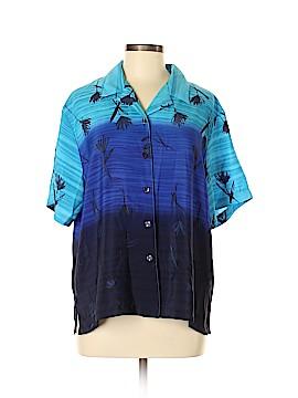 Joanna Short Sleeve Blouse Size L