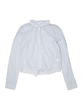 H&M Long Sleeve Button-Down Shirt Size X-Large (Kids)