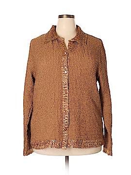 Rafael Long Sleeve Blouse Size 2X (Plus)