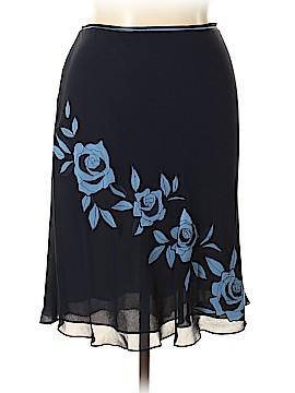 Ann Taylor Silk Skirt Size 16