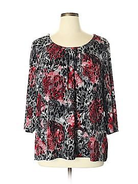 Laura Ashley Long Sleeve Blouse Size 3X (Plus)