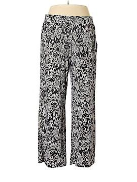 IMAN Casual Pants Size 1X (Plus)