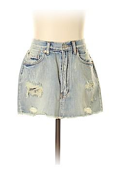 Signature 8 Denim Skirt Size S