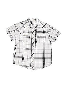 Crazy 8 Short Sleeve Button-Down Shirt Size 7-8