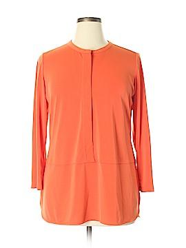 Lauren by Ralph Lauren 3/4 Sleeve Top Size XL