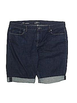 Ann Taylor LOFT Denim Shorts Size 12