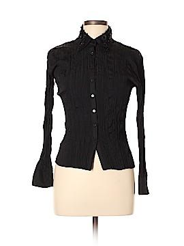 Burberry Long Sleeve Blouse Size XL